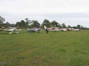 Our May fly in was again well attended and a success