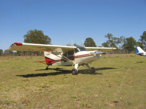 This aircraft was the pick of the month that flew into our December fly-in