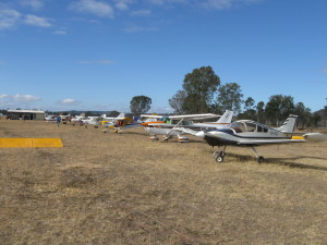 August fly in was another beautiful day for many varied aircraft
