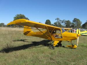 Skyfox 'Gazelle' attended the May fly in brekkie