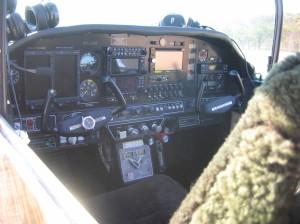 Charlie & Ellen's 'Tiger' cockpit...any pilots dream!!