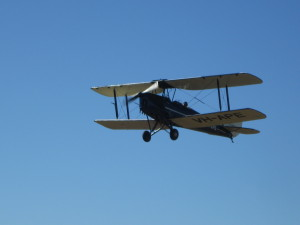This Tiger Moth was well worth the trip to Angelfield to see