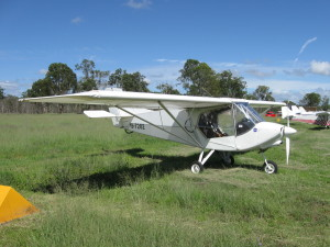 X-air flew into our January fly in