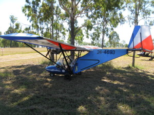 Several ultralights flew in on Anzac Day but had to wait until Monday to depart due to the windy conditions on Sunday