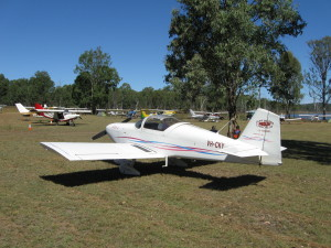 A good selection of GA planes attended Lake Barambah fly in