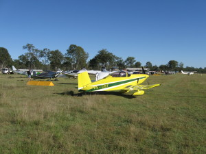 The May fly in was a ripper of a day. A good variety of aircraft flew in from all directions