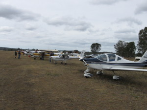 October weather did not deter flyers at Angelfield