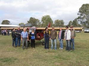 Murgon Rotary members enjoyed brekkie and a tour around Angelfield