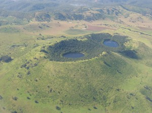 The craters in the North Burnett are interesting to fly over