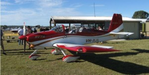 Beaut RV that flew into Angelfield then onto Gayndah