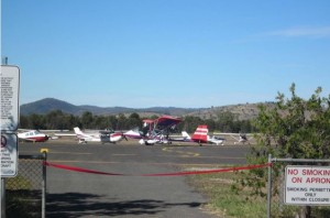 A good variety of aircraft attended the official opening