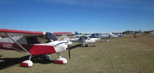 Quite a few Burnett Flyers attended the re-opening of the Gayndah airport