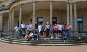 A good crowd turned up to Jimbour House