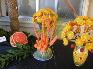 Some creativity with fruit and vegies was amazing. Well done Gayndah